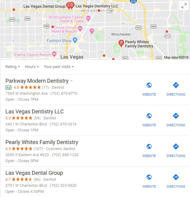 Local SEO Ranking for Dental Business